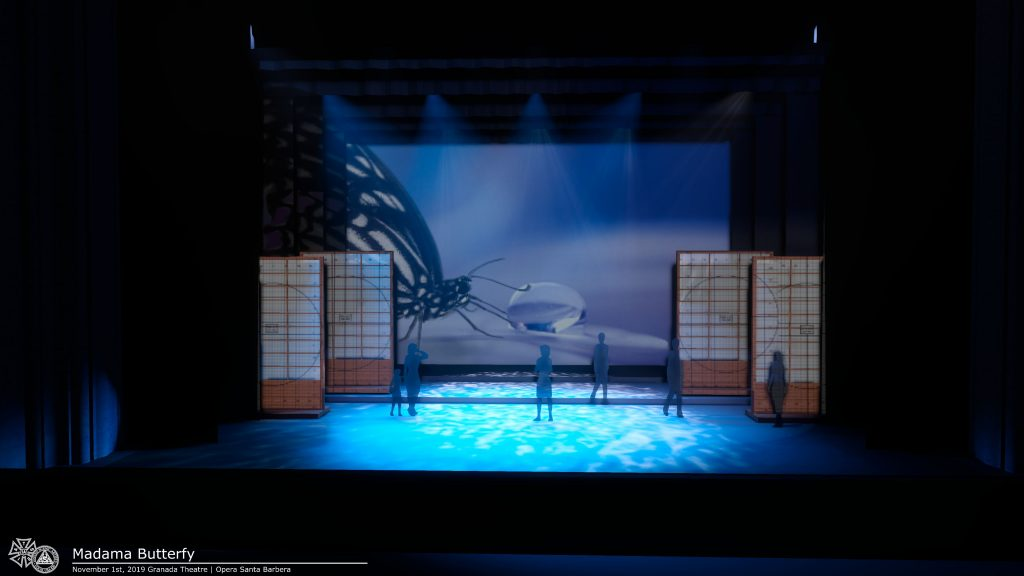 Madama Butterfly Opera SB Digital Projection Daniel Chapman